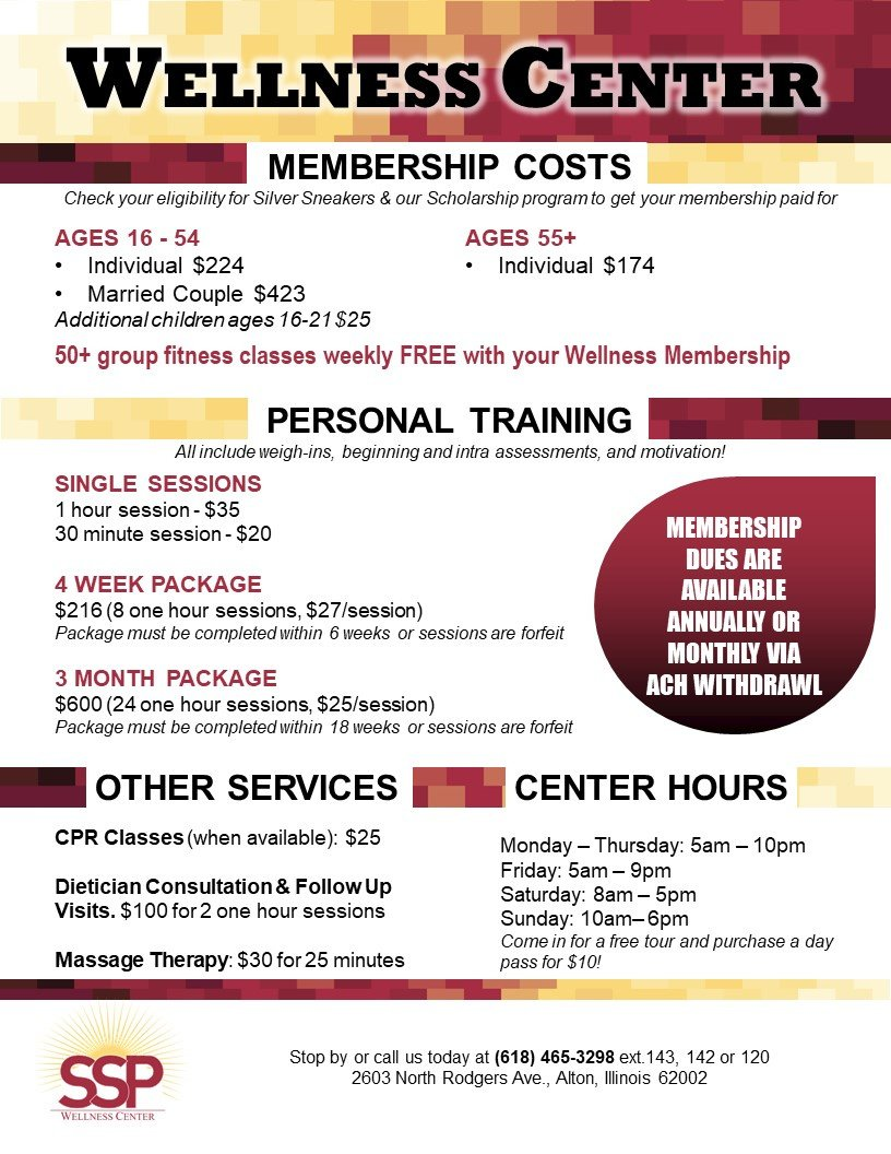 Wellness Center Information
