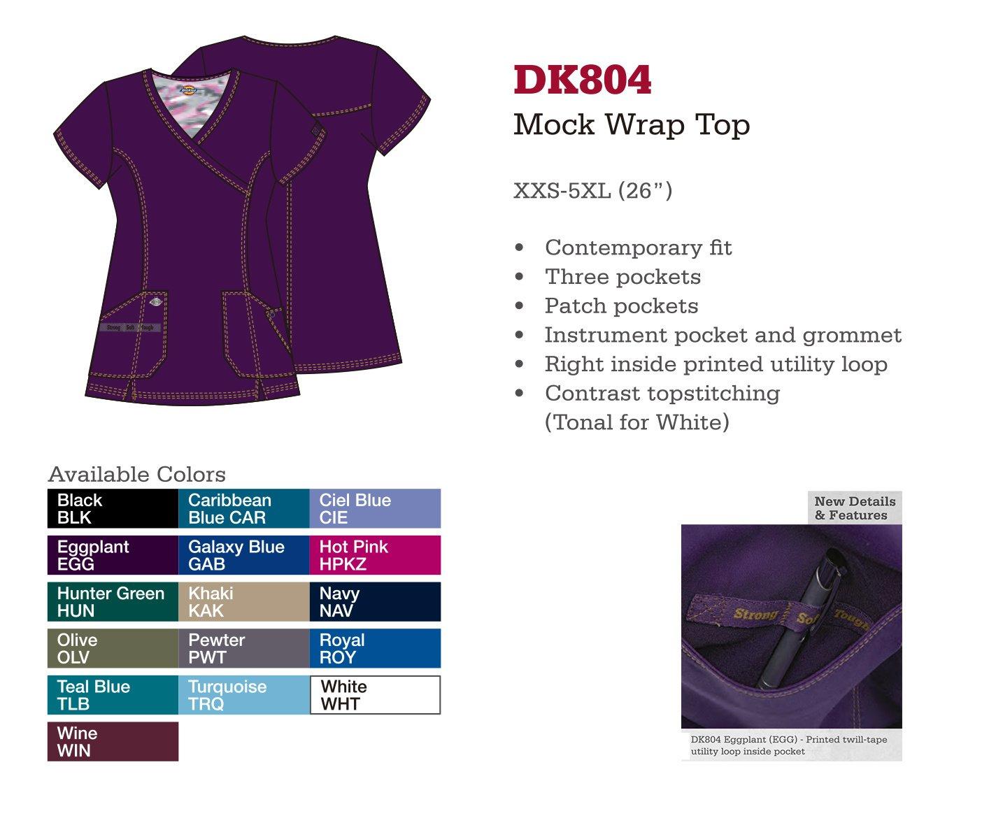 Parte Superior. Mock Wrap. DK804.