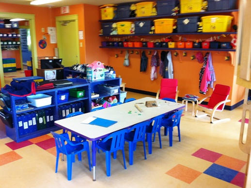 4 year-olds' room