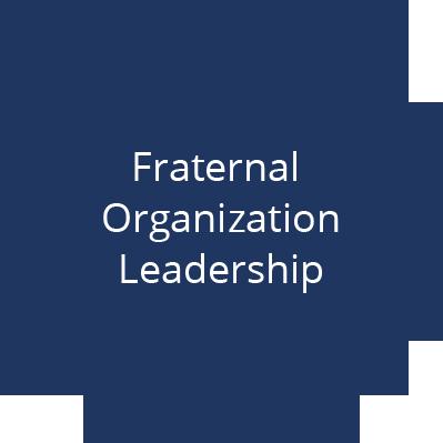 Fraternal Organization Leadership
