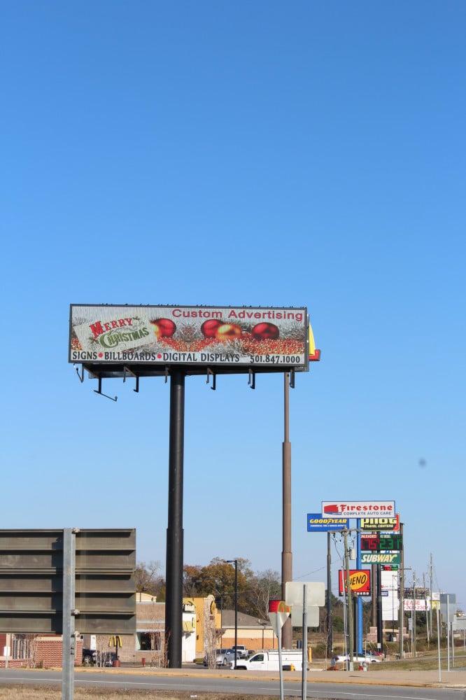 12'x48' Watchfire Digital Billboard  Hwy 5 & Alcoa Benton, AR