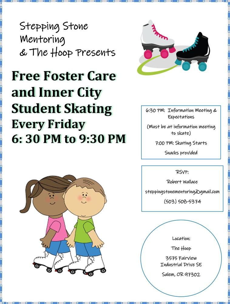 Skating Event Flyer