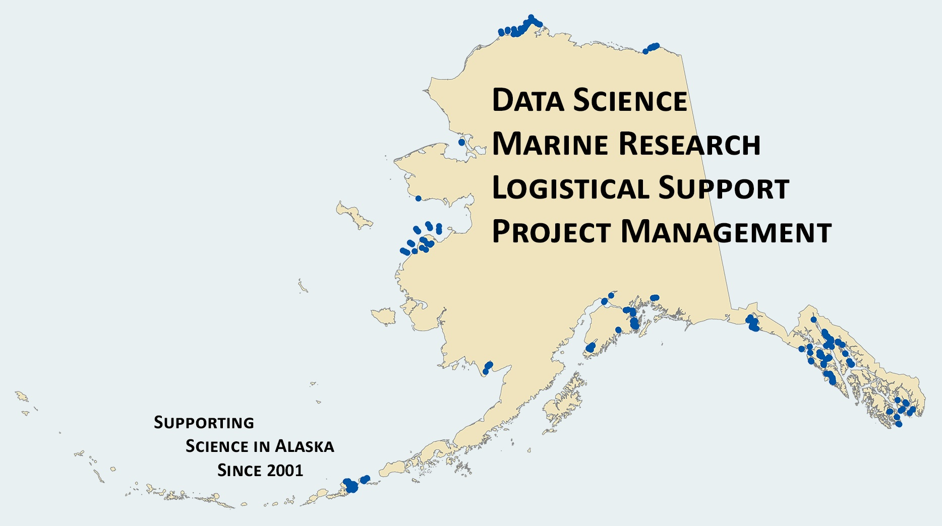 Projects throughout coastal Alaska