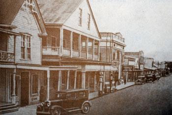 Down Town Main Street 1915||||