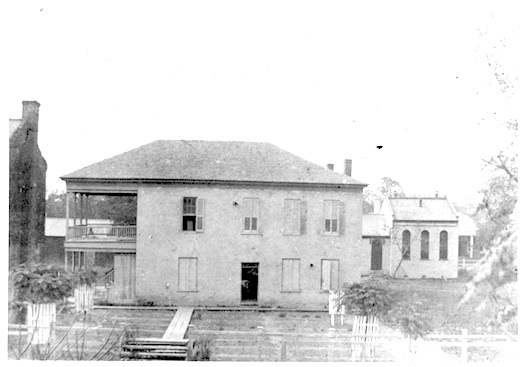 Avoyelles Parish Courthouse about 1880||||