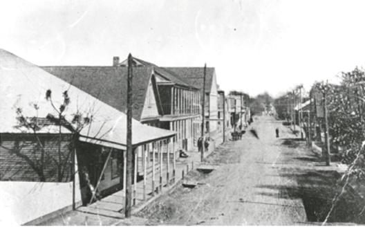 Down Town Main Street 1852||||