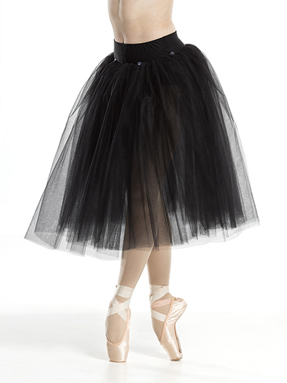 Ballet Skirt in black