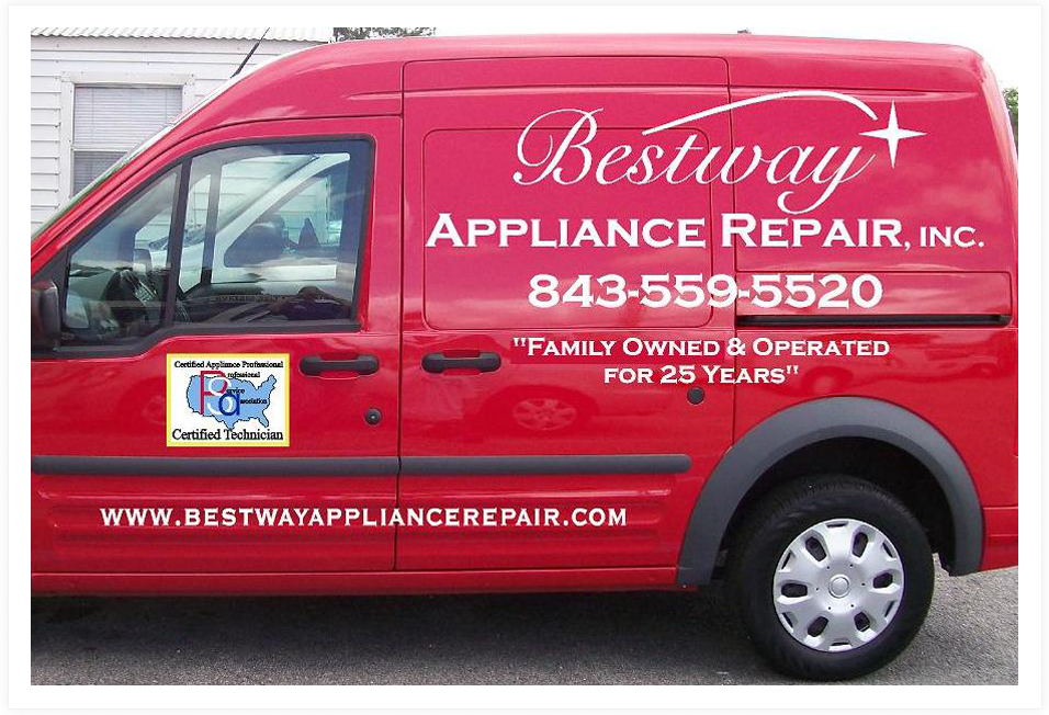 Bestway Appliance Repair Service Truck||||
