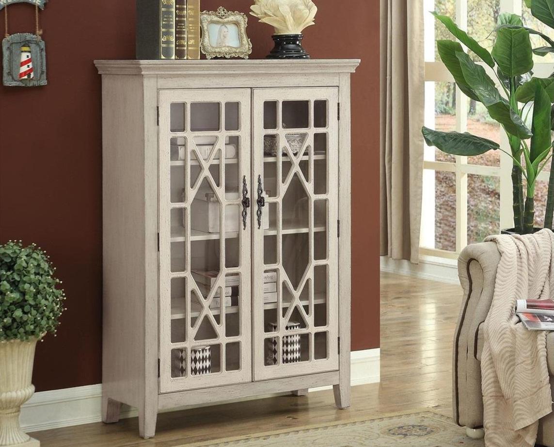 13724 Ivory Door Cabinet