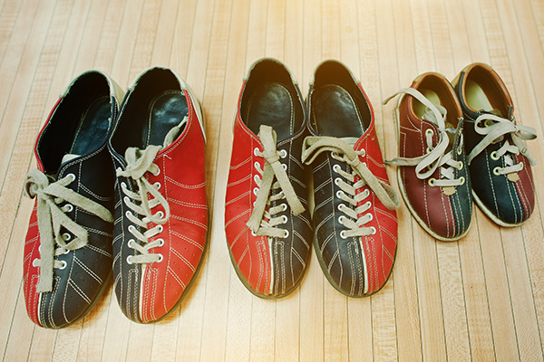 Three Pairs of Shoes for Bowling