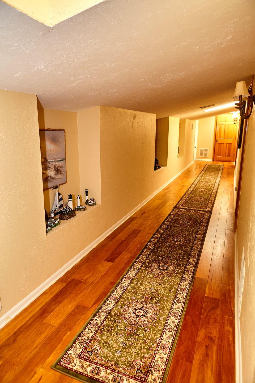 Narrow Brown Foyer