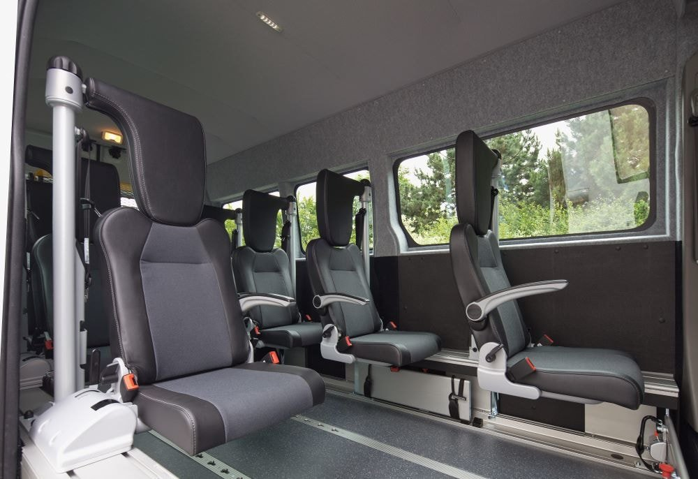 wheelchair transportation milwaukee, bus vehicle with accessible wheelchair equipment for disabled patients.
