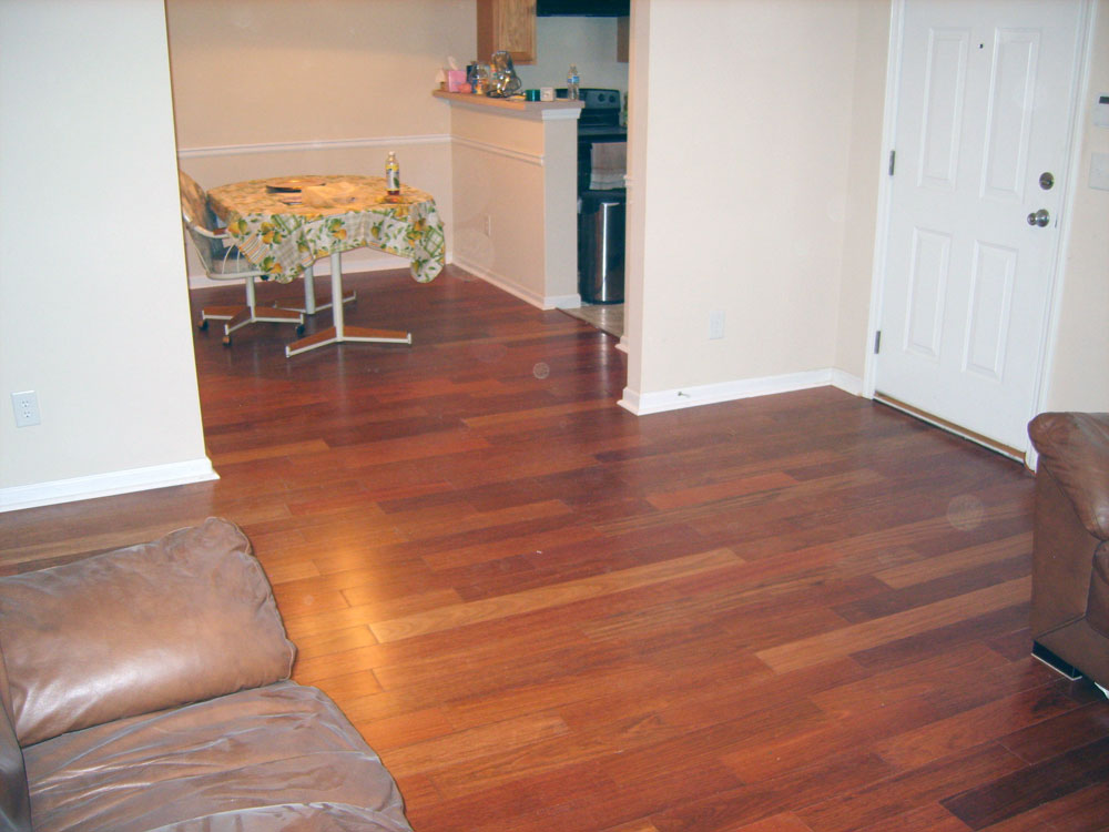 Colonial Maple Hardwood Floor