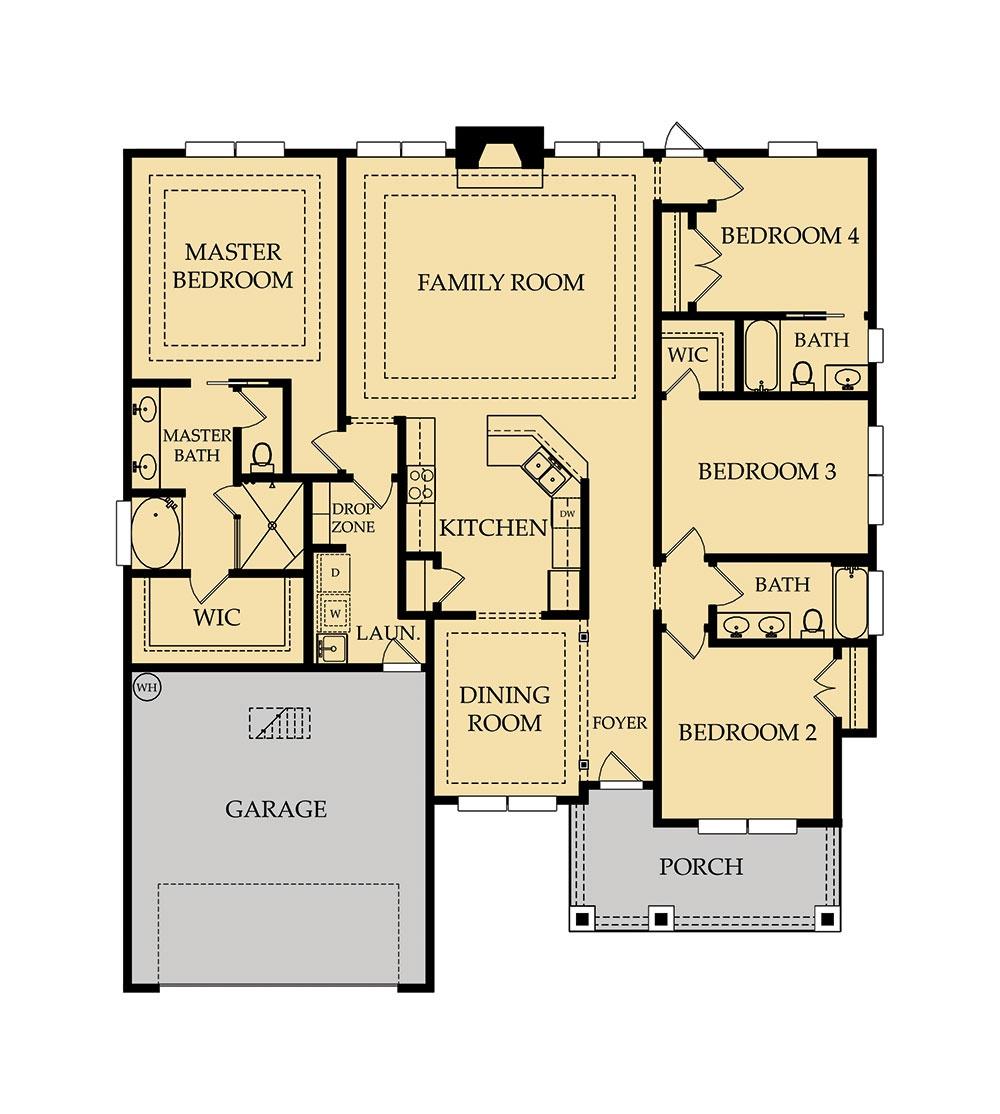 Brooke Floor Plan