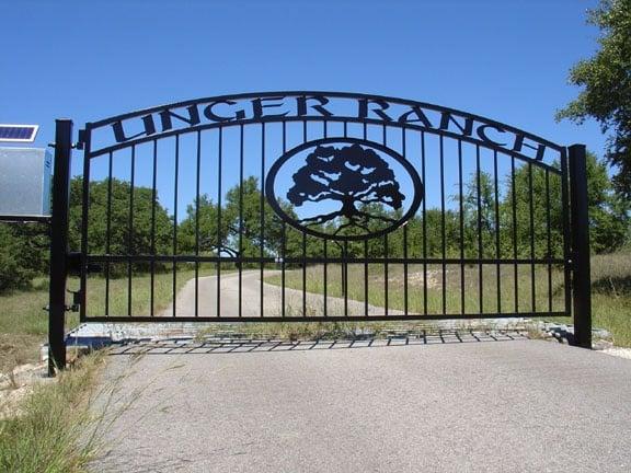 Custom Driveway Gates Ranch Gates Solar Electric