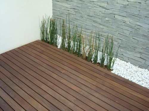 Decoraci n siglo xxii deck para exterior for Pisos de madera para exteriores precios
