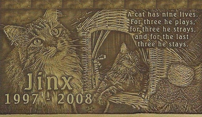 Customized Bronze Memorial Emblem