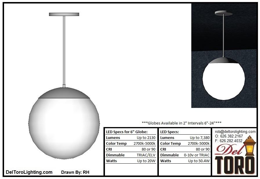 700P-Globe Pendant