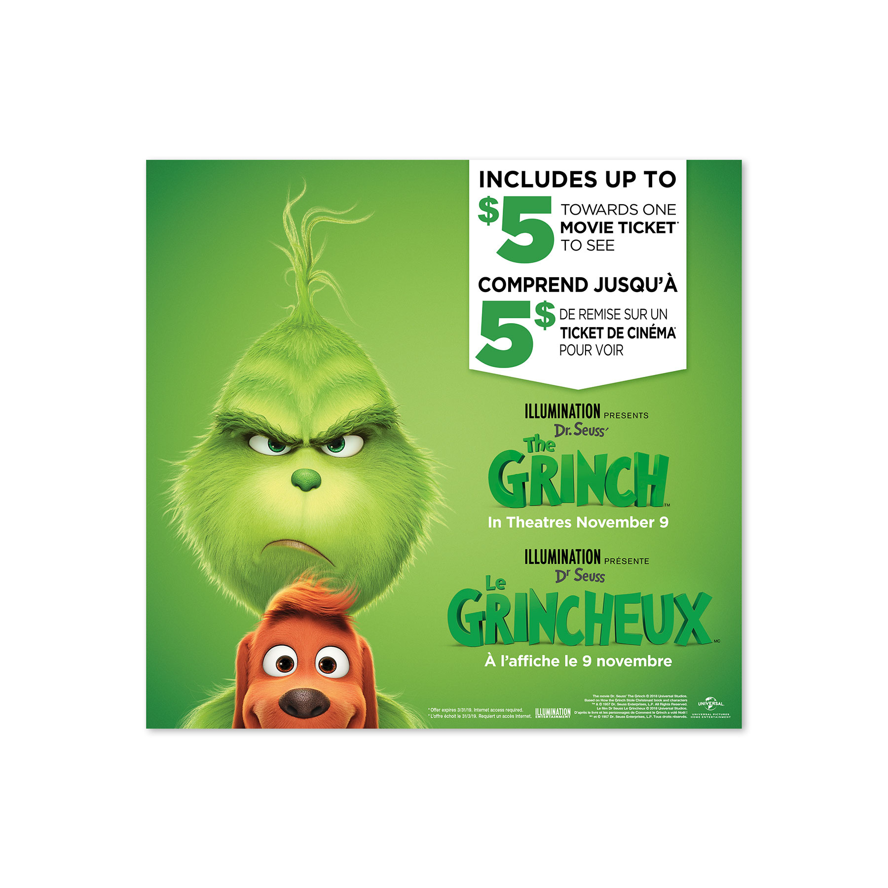 Grinch Prepack Header for Canada