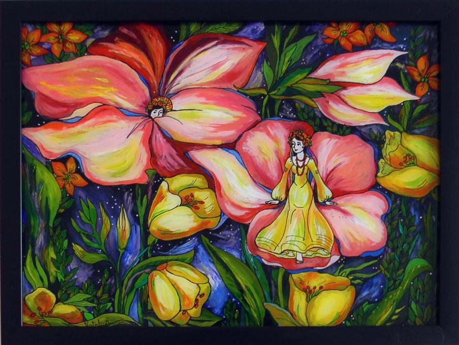 """""""Summer"""" by Nataliya Guchenia  Size - 11""""H X 14""""W $300.00"""