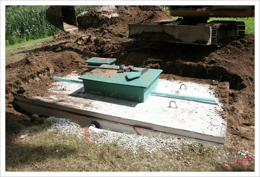 Precast Septic Tank : Lycoming burial vault co inc in montoursville pa is an