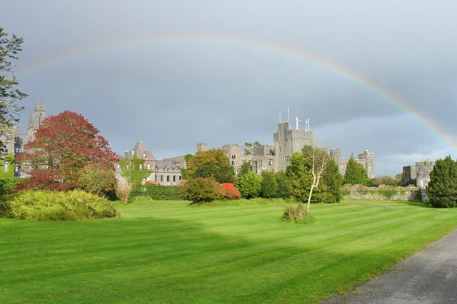 Castle in Ireland, Honeymoon destination for Joe and Jennifer, who Rev. Steen married in Saugus