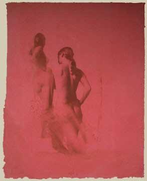Thomas Wojak, Pink, Double Nudes