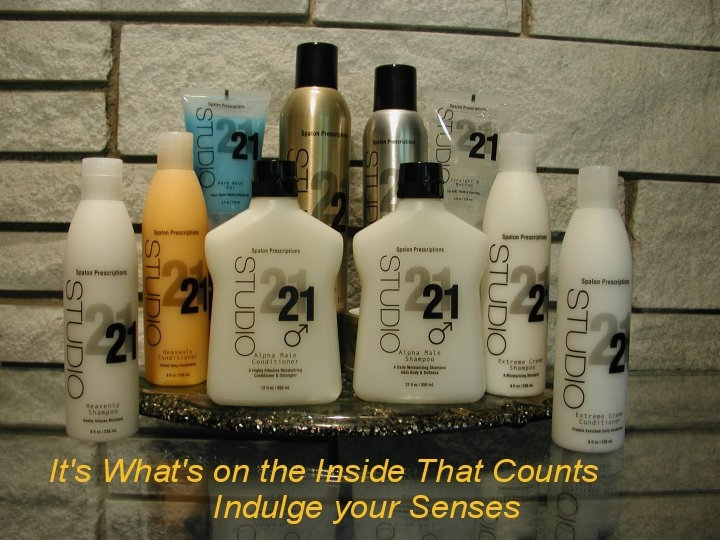 Studio 21 Salon & Spa Products||||