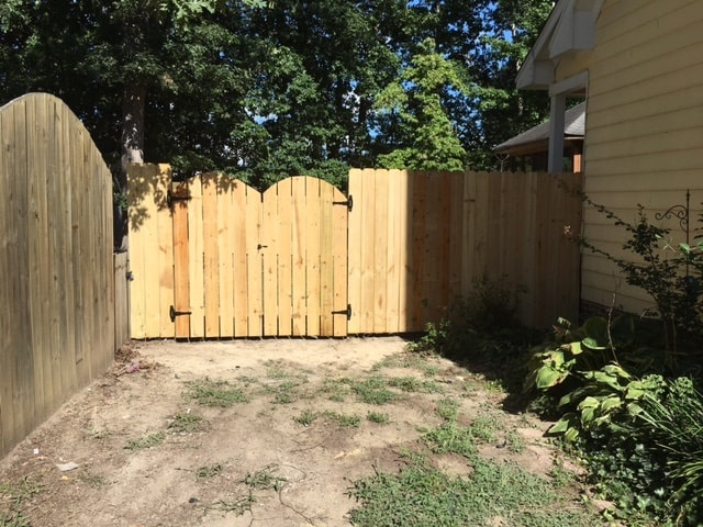 Wood Fence Gates