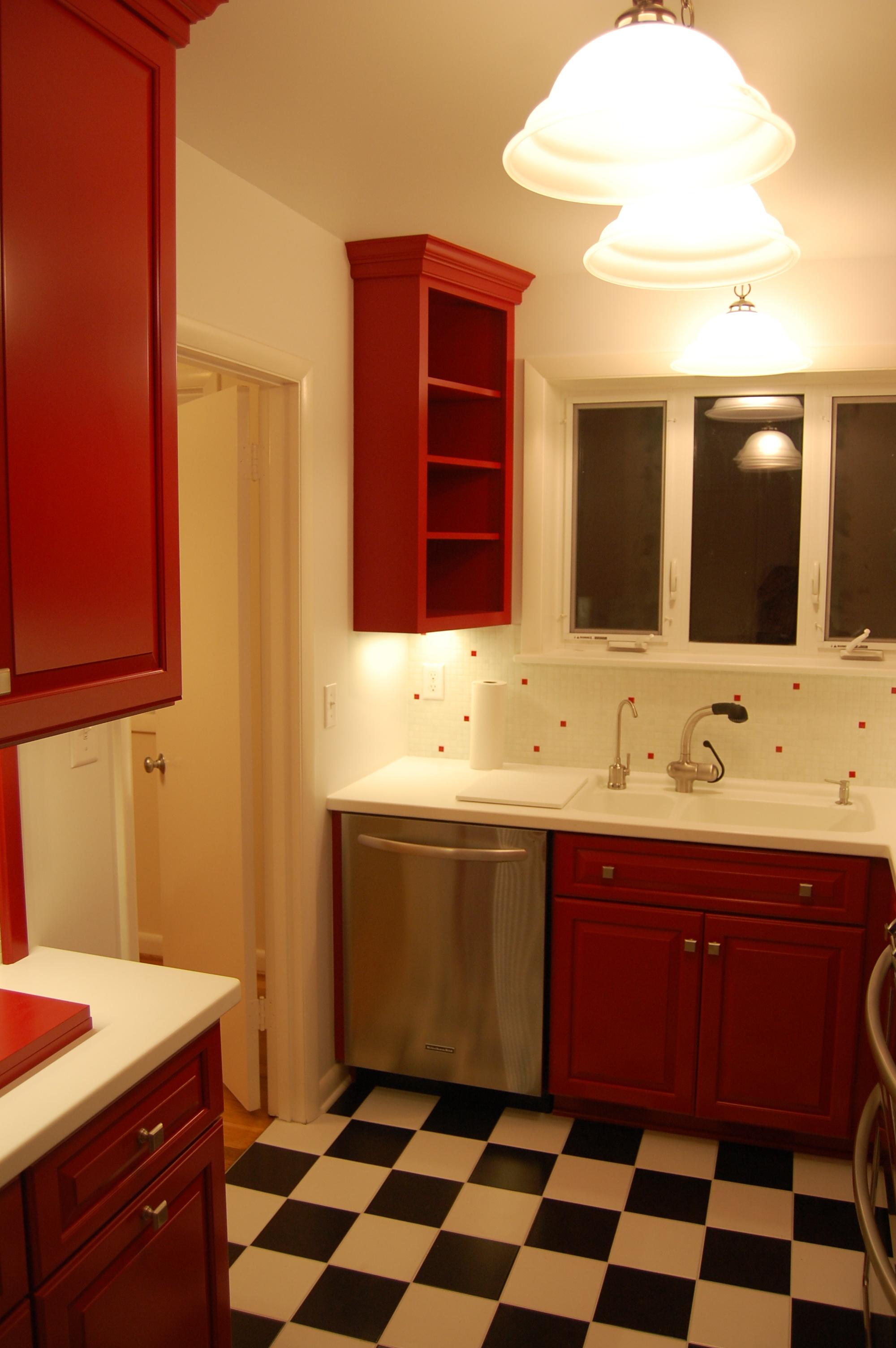 kitchen remodel after B