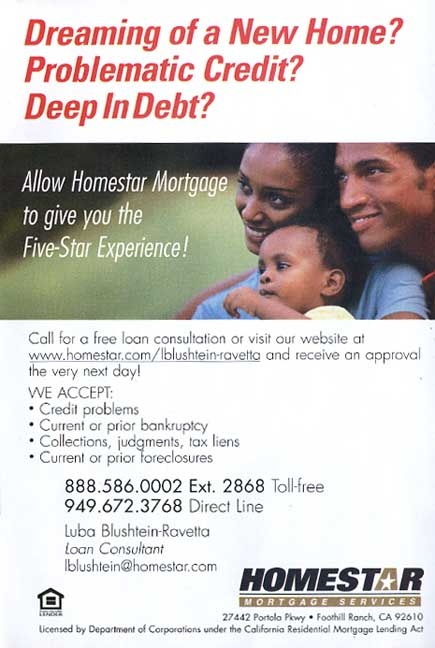 Homestar Mortgage Services