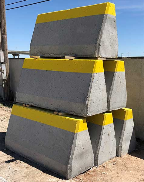 6' Barriers