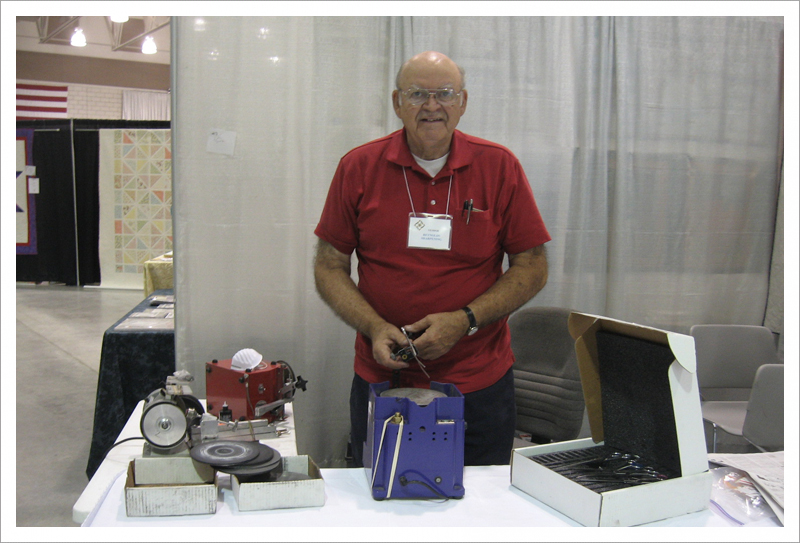 Don at WV Quilt Guild Festival 2013||||