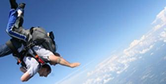Soaring Skydiver