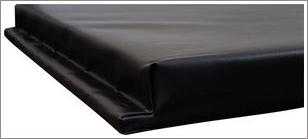 Wood backed wall pad||||
