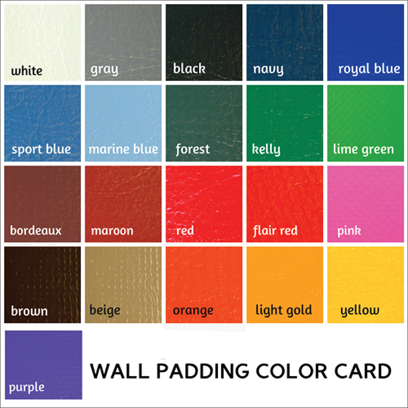 Wall padding color card||||