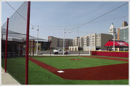 Baseball barrier net    