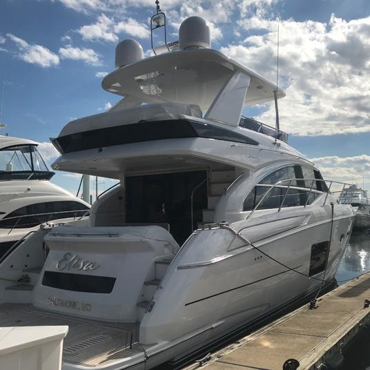 White Yacht