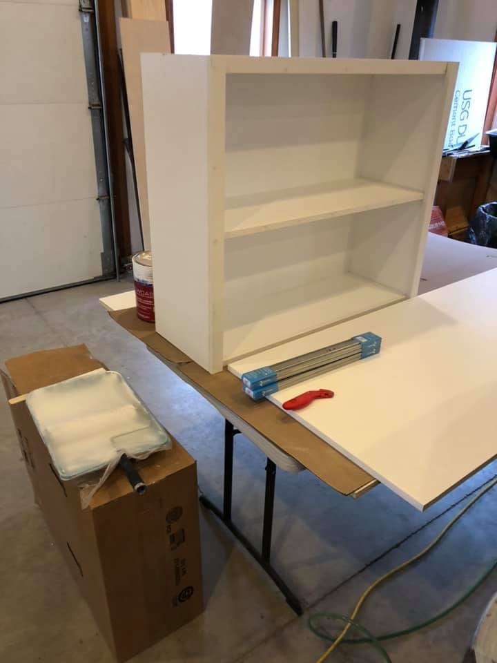 Custom Cabinets Painted