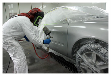 Car painting services||||