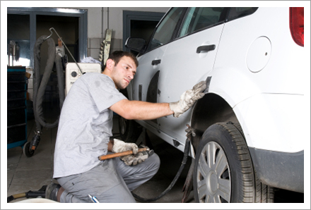 Collision repair services||||