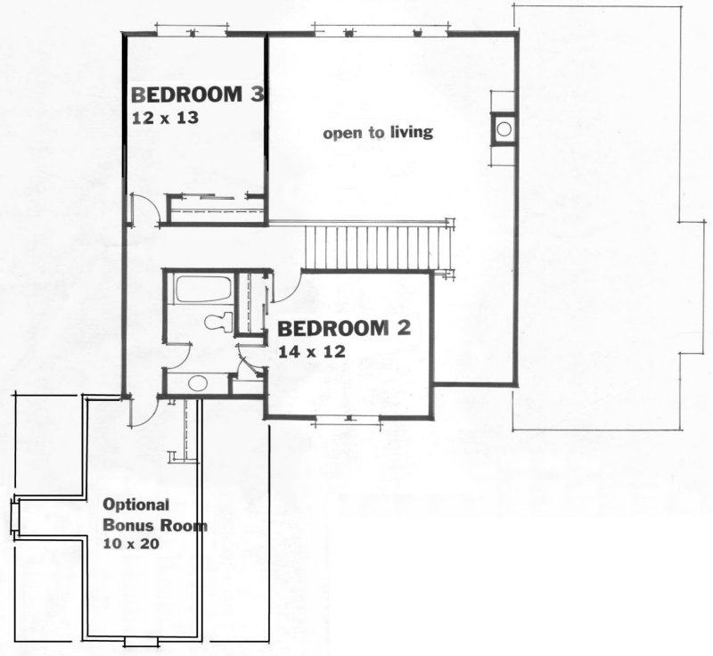 20-4 second floor plan