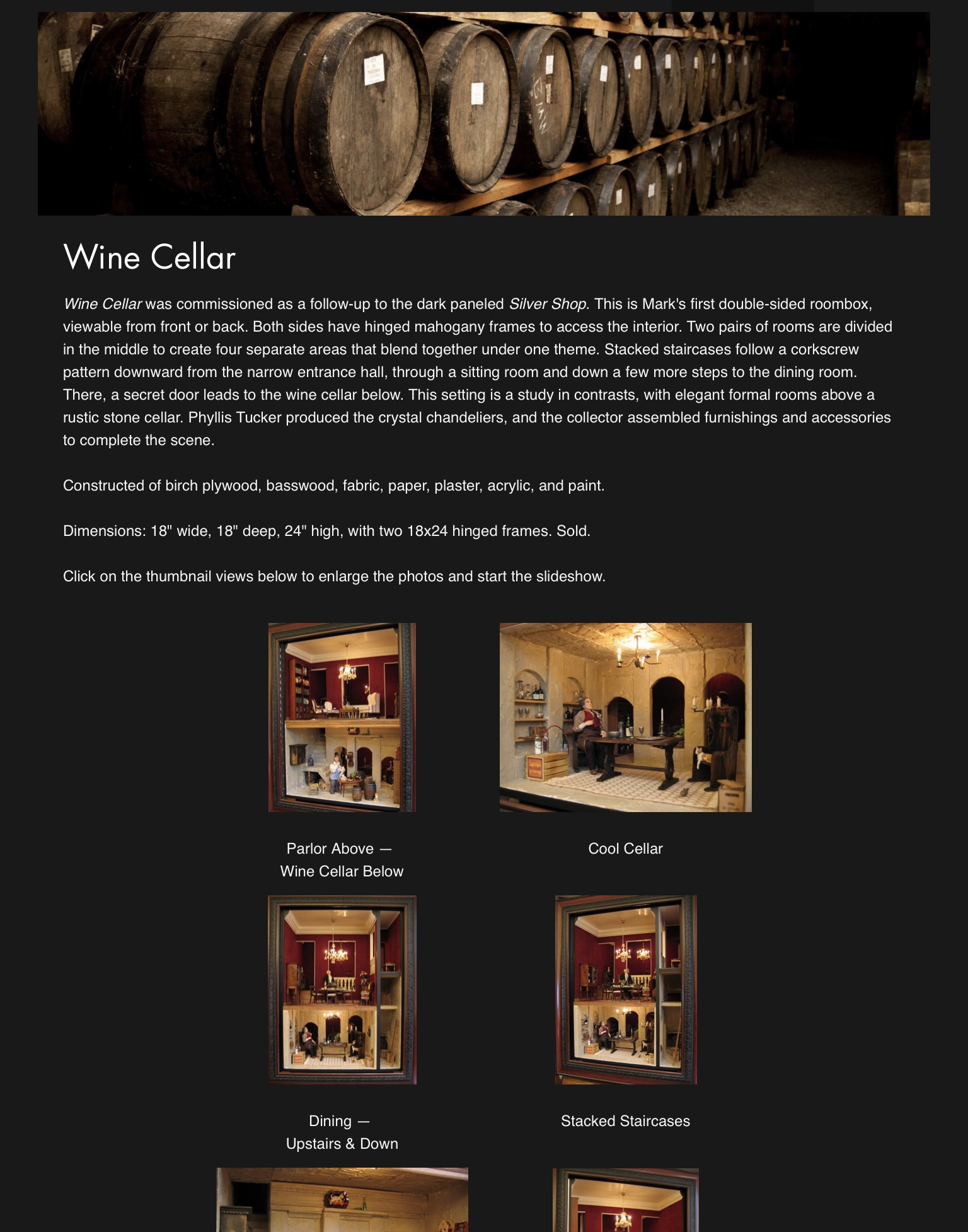 Wine Cellar — 2005
