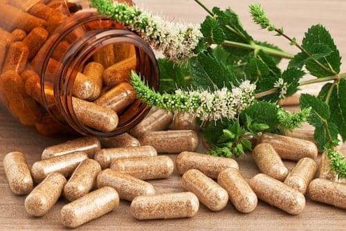 Herbal Medicinal in Capsules