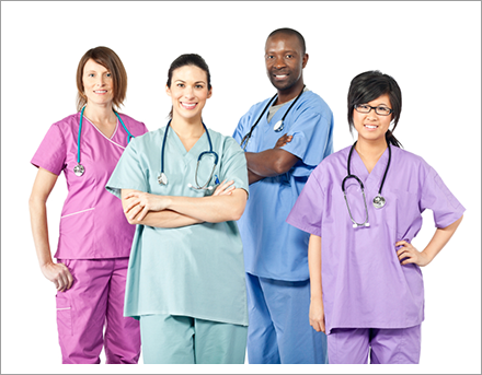 Group of experience doctors||||