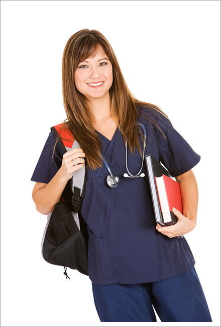Junior nurse trainee in service||||