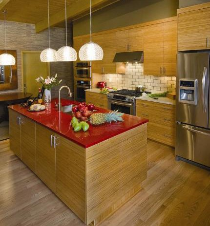 Modern and organic countertops||||