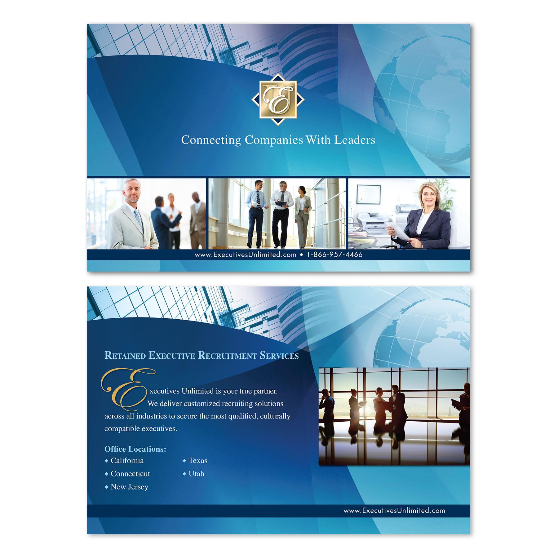 Executives Unlimited Postcard