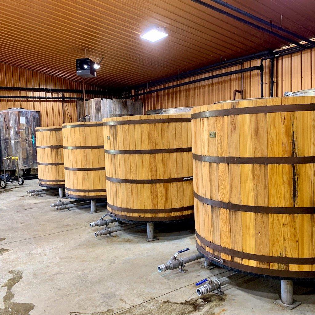 Cypress Fermenters - Neeley Family Distillery