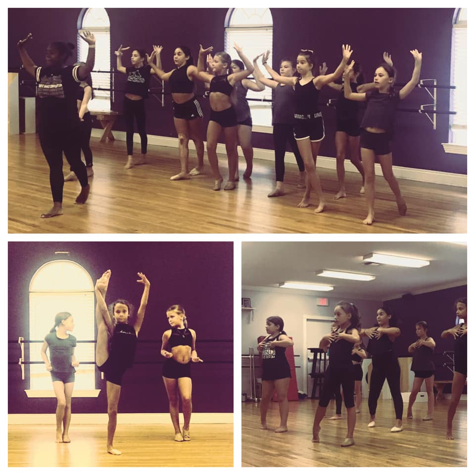 Our DWCC girls are hard at work on new material for the new competition season!
